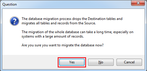 DB Migration YES