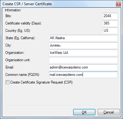 Certificate Management under IceWarp server – IceWarp Help Center