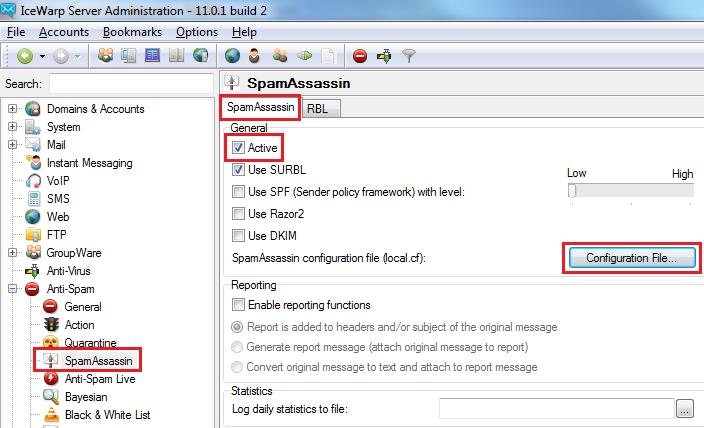 AntiSpam SpamAssasin