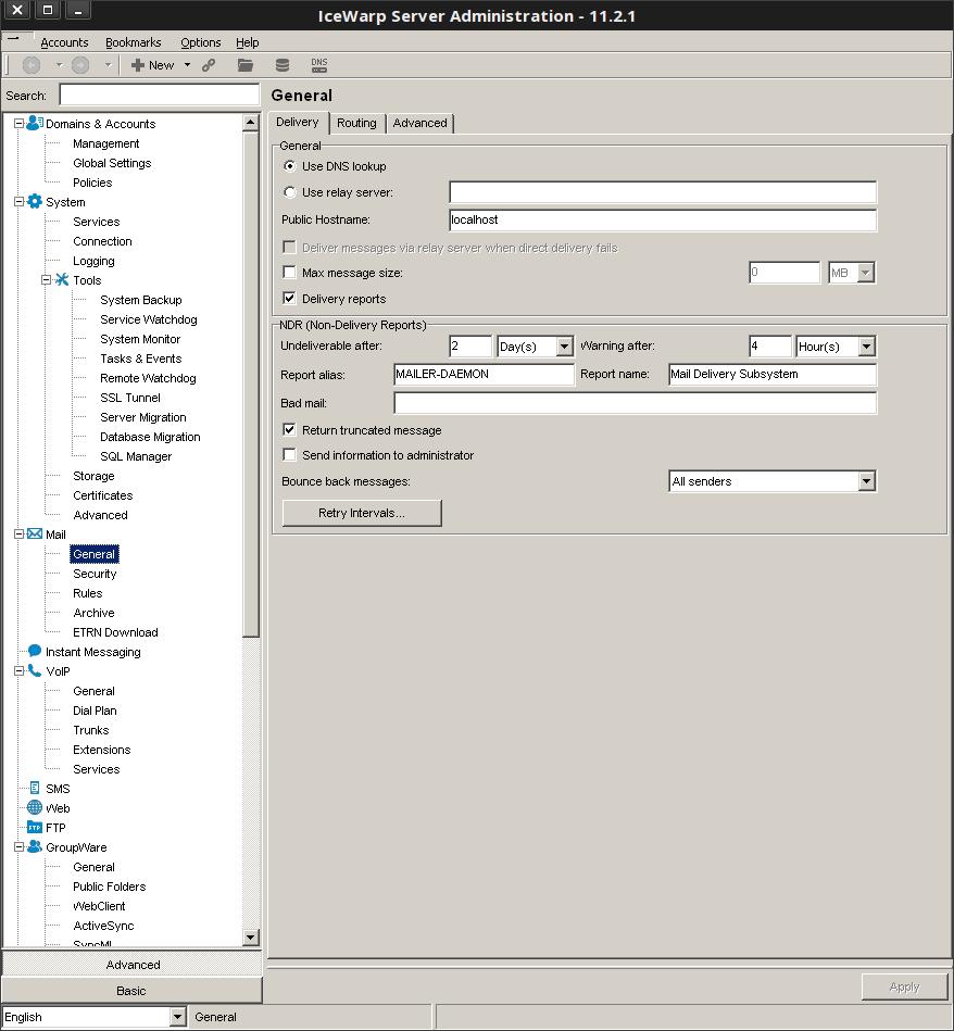 Admin Remote Console