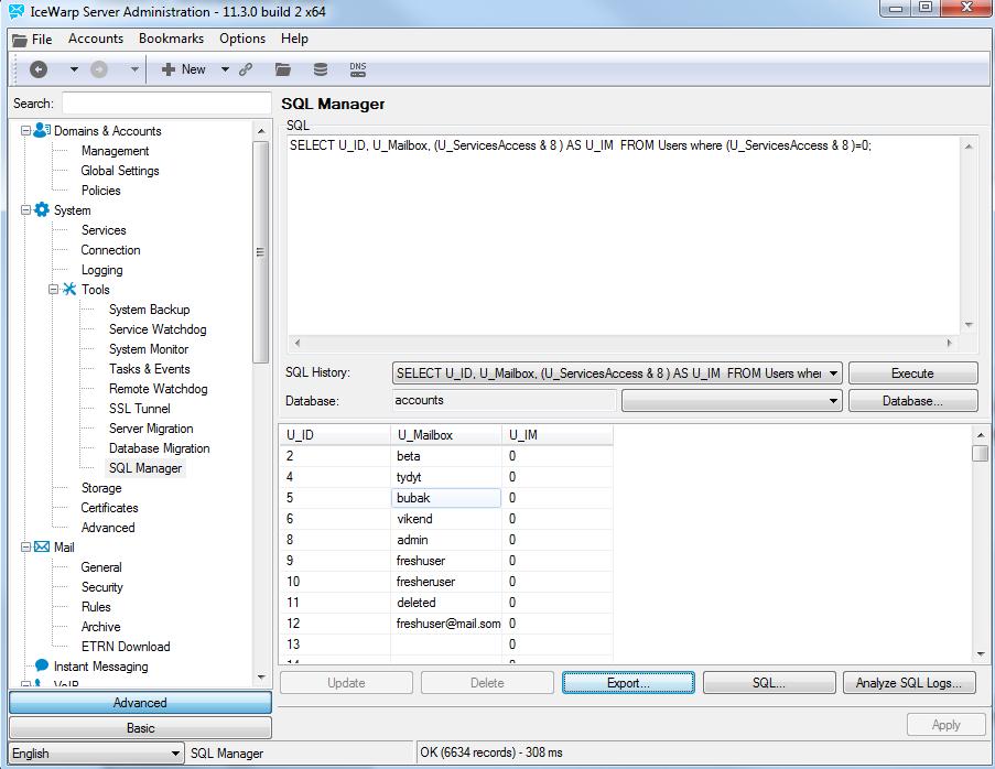 SQL Manager